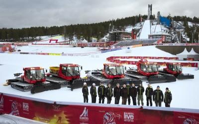 Officiell leverantör för Skid-VM i Falun