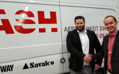 Winn och Aebi Schmidt gör gemensam sak i Norrland
